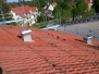 Abdecken des Daches 28.08.2014