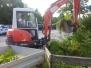 Gartenpflege und Abbruch Estrich 08.08.2014