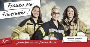 Fauen zur Feuerwehr